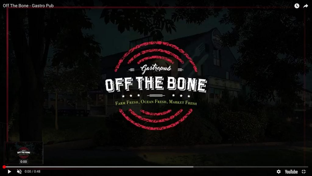 off the bone YT video