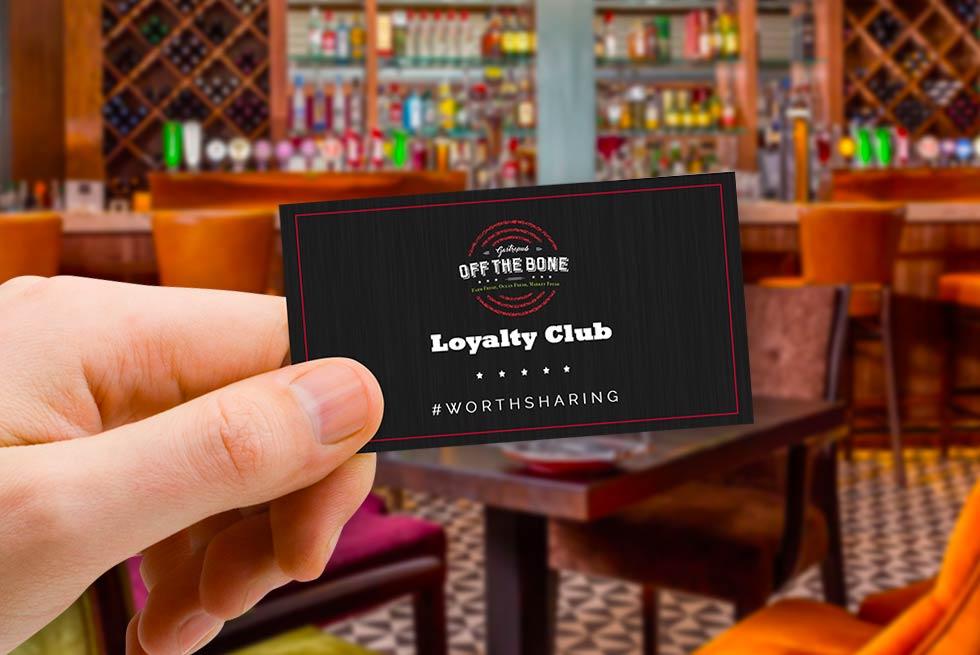 Off The Bone loyalty club